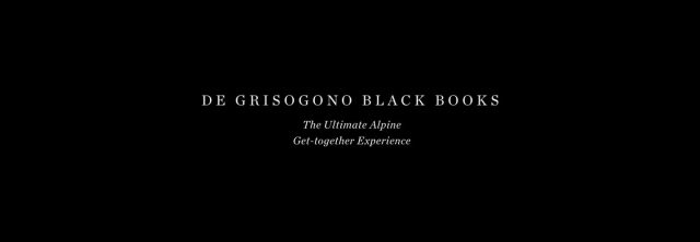 de GRISOGONO - Black books
