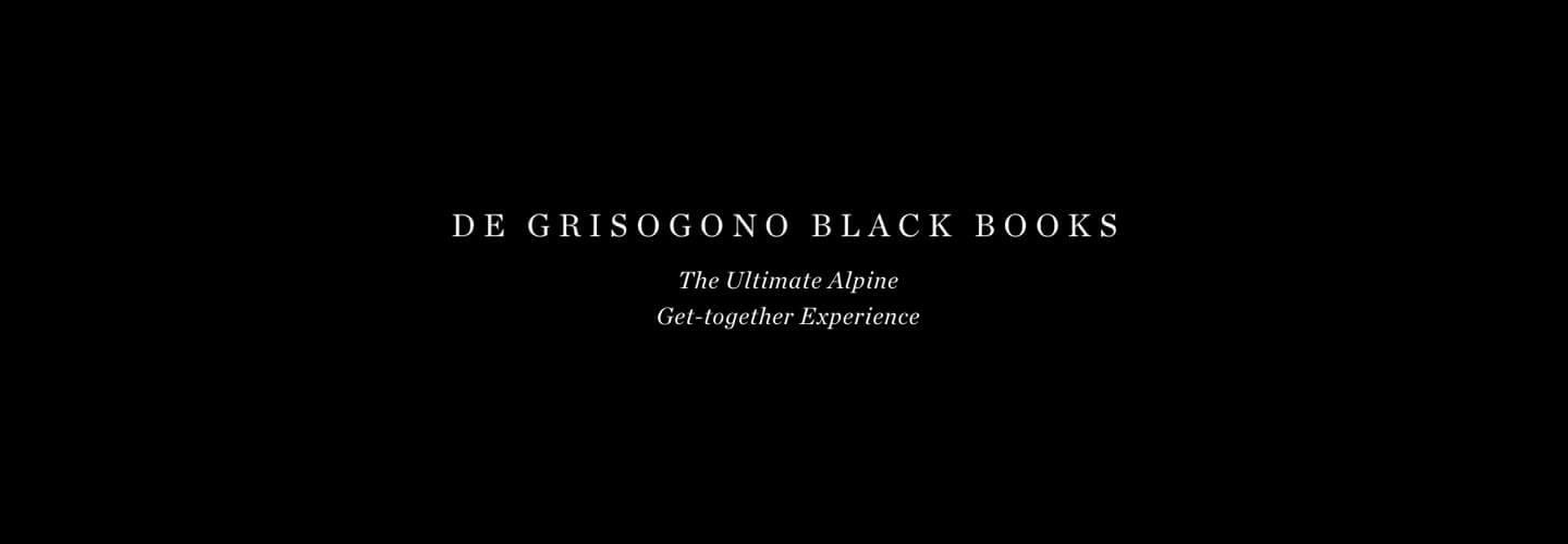 de GRISOGONO - Black books