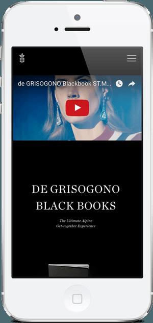 BlackBook - de GRISOGONO