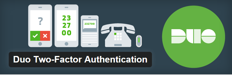 Duo Two-Factor Authentication WordPress plugin