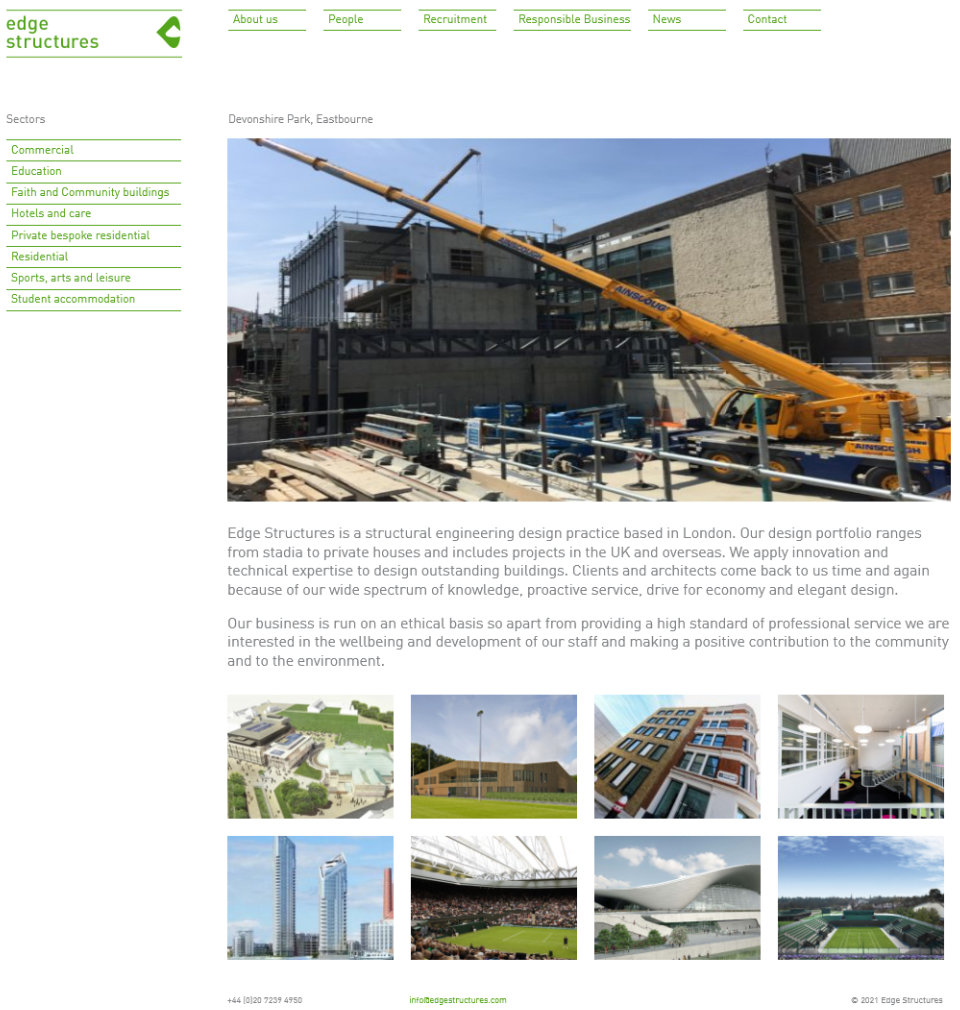 Edge Structures - Structural engineering