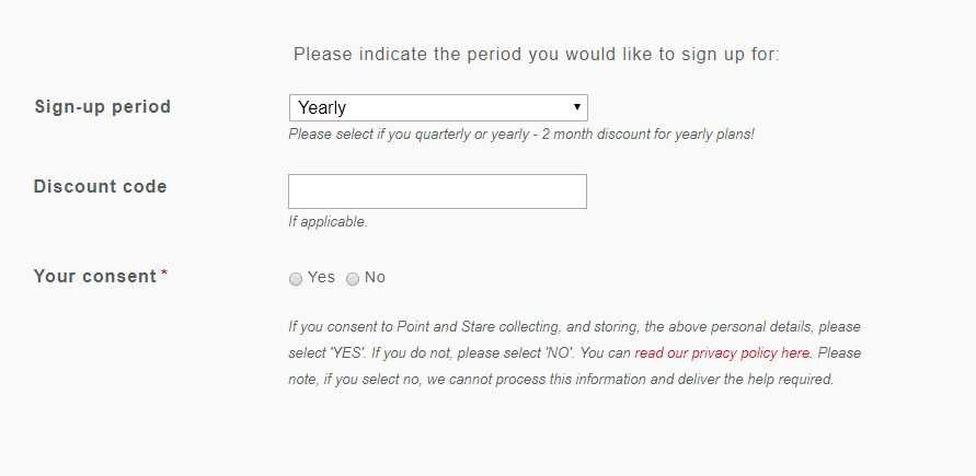 GDPR and website forms - an easy peasy guide