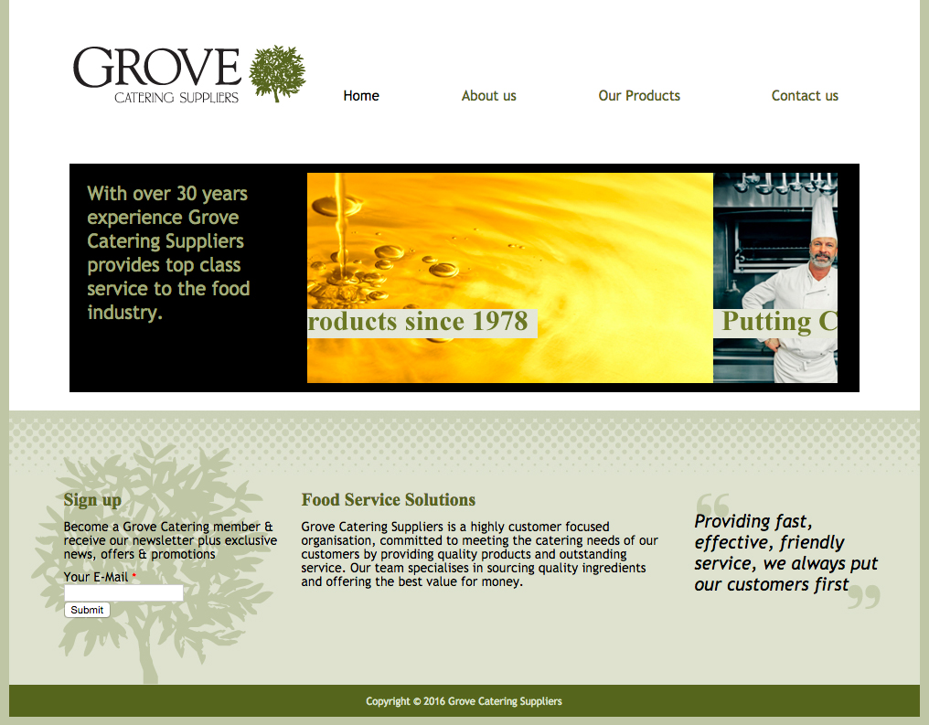 Grove Catering Supplies