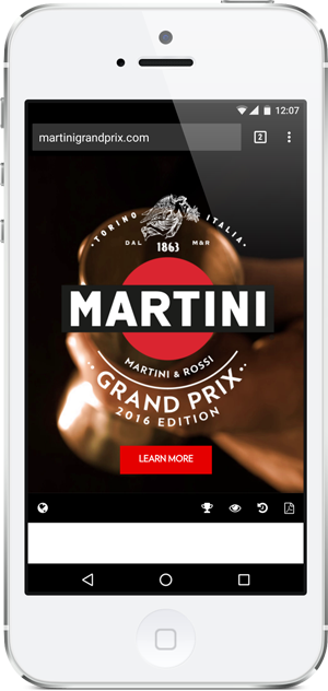 Martini Grand Prix - Point and Stare