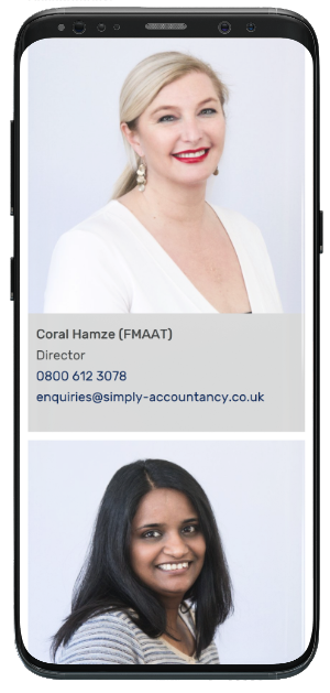 Simply Accountancy - Mobile - Meet The team