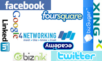 Top 10 social profile locations for businesses