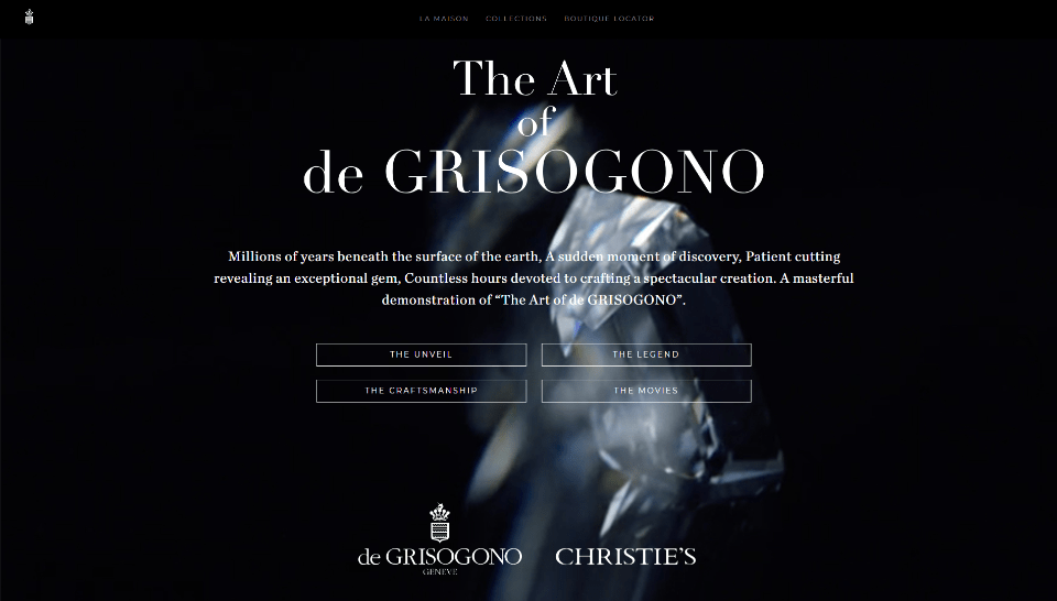 The Art of de GRISOGONO