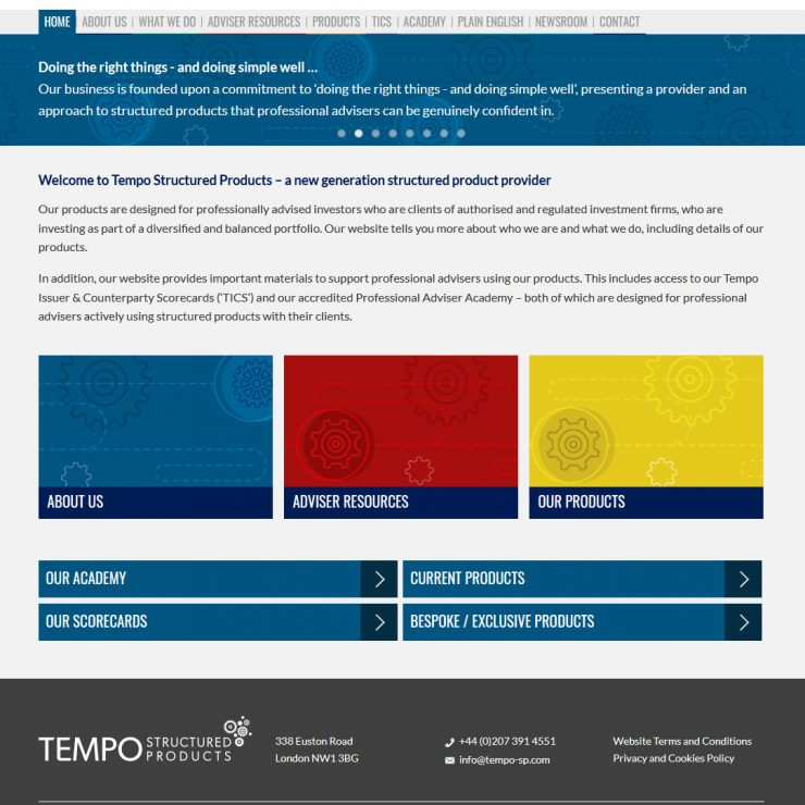 Tempo Structured Products