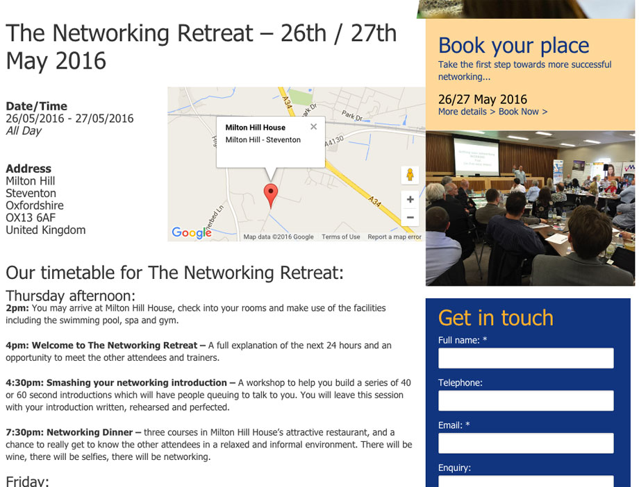 The Networking Retreat