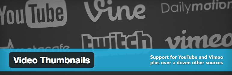 Video Thumbnails WordPress plugin