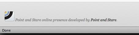 Customised WordPress footer using Dropbox